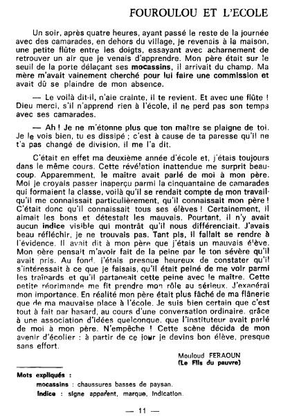 Resume de la biographie de mouloud feraoun